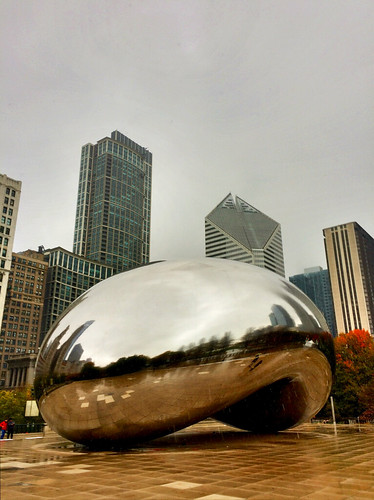 The Bean is still too warm for the first snow of the year to stick on it. | by spudart
