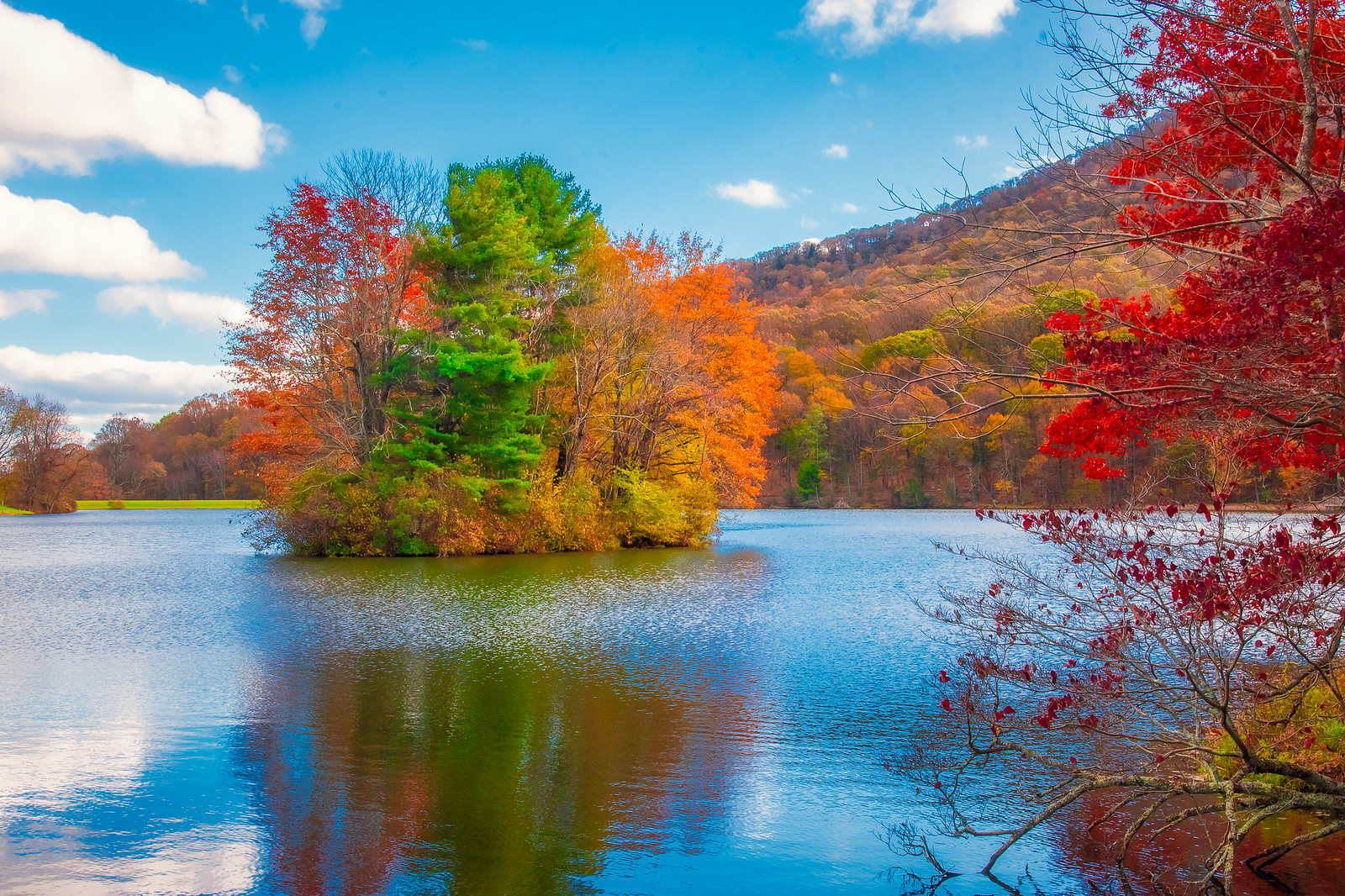 Fall at Peaks of Otter