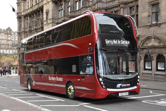 Borders Buses - YX67UZB