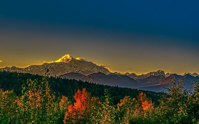 Sunset Mt. Denali View