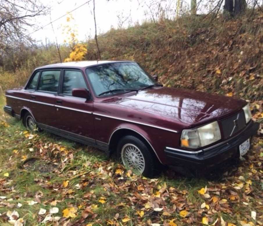 Volvo 240 Classic 1993 Bc Canada Sitting In Field For 5 Y Flickr