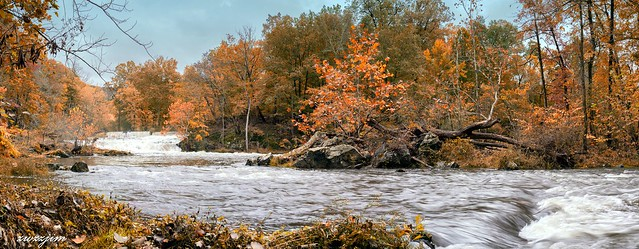 Fishkill Creek Falls at Madam Brett Park in Beacon 06, NY