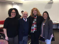 Millie Morales, Marvey Corson, State Representative Noreen Kokoruda and Sheri Rombald attended a legislative breakfast at the Capitol in Hartford earlier this month, which was hosted by Connecticut Council Organizations Serving the Deaf (CCOSD). CCOSD is committed to serving the deaf and hard of hearing residents of Connecticut through their local and autonomous member organizations of or for the Deaf.
