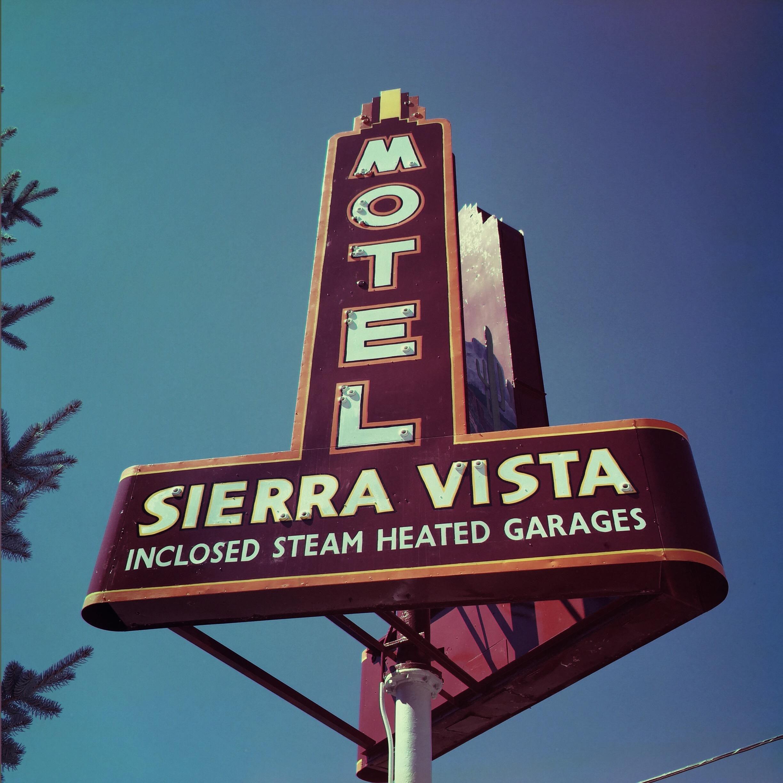 Sierra Vista Motel - Flagstaff, Arizona U.S.A. - September 11, 2015