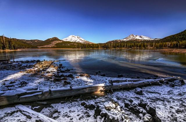 November morning at Sparks Lake