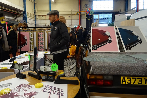 Art Car Boot Fair Christmas | by Butterfly Art News