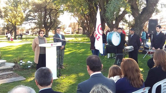 Argentina-2018-07-21-Peace Framework Monument Unveiled in Argentina
