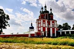Saints Peter and Paul Church. (1693-1708). Gustynya. Chernihiv region, Ukraine.