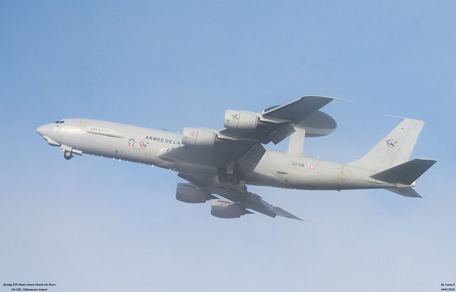 Boeing E3F Sentry Awacs French Air Force 36-CB