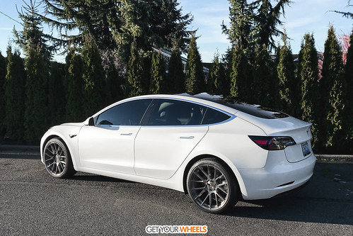 Tesla Model 3 - AGLuxury AGL Vanquish Brushed Stainless