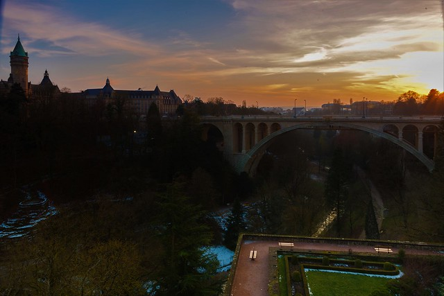 Pont Adolphe Luxembourg