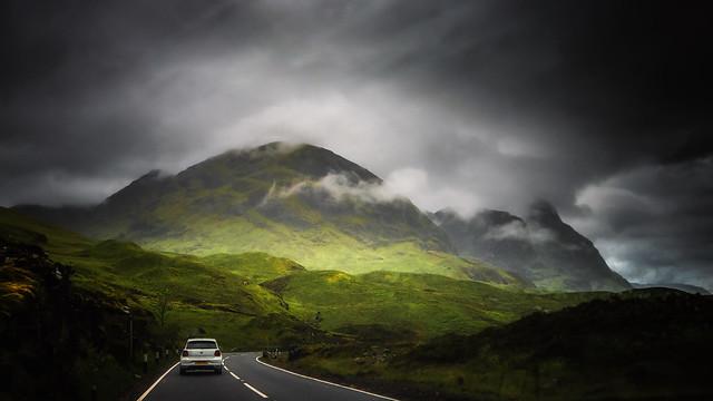 Take the high road....