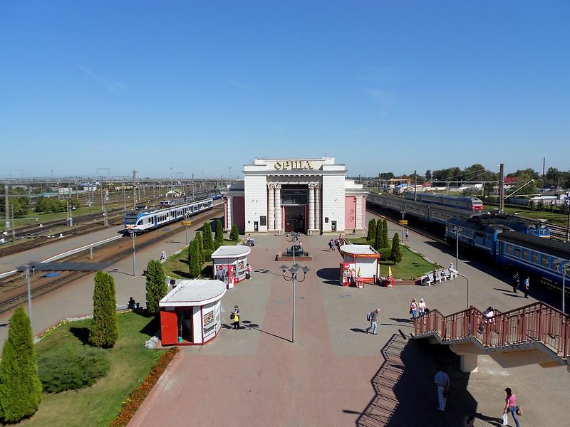 Станция Орша. Вокзал.