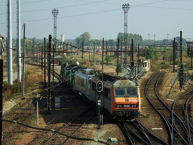 BB-60085 + BB-60036 + BB-60109 + BB-7380 + BB-26199 St Pierre des Corps (37 Indre et Loire) 20-10-18b