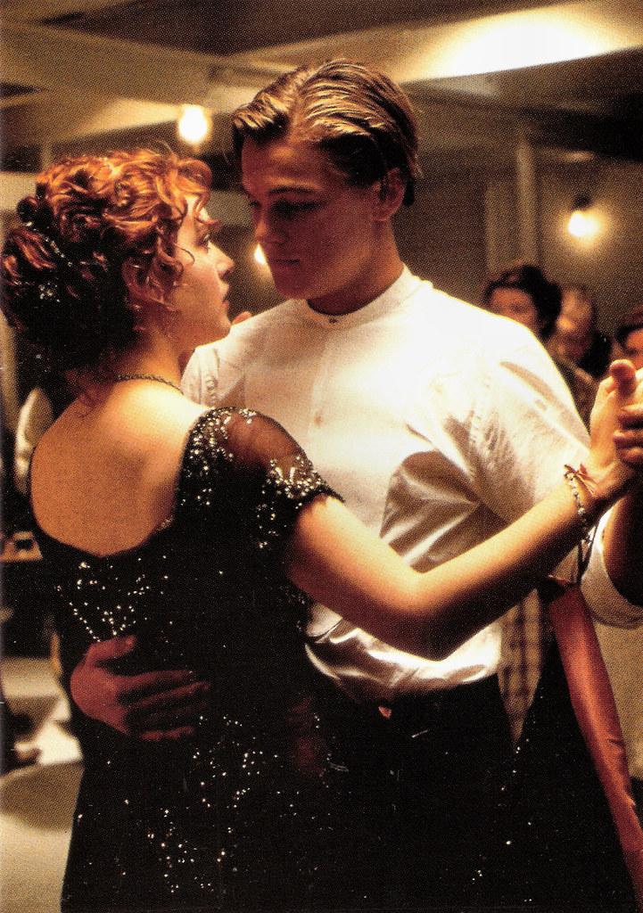 Kate Winslet And Leonardo Dicaprio In Titanic 1997 Flickr
