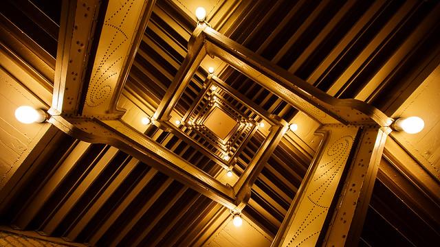 International Market Square staircase in Minneapolis