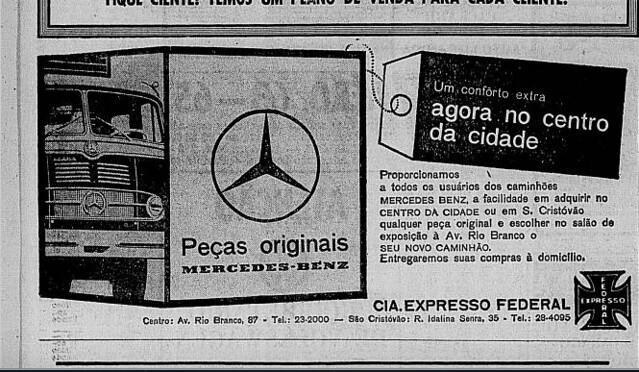 Cia. Expresso Federal, 1965