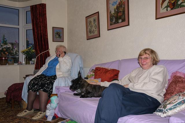 Mum, Tigger and Gran