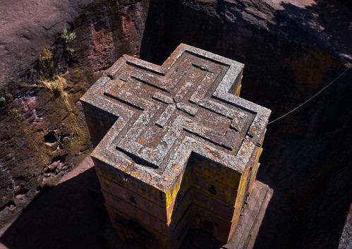 aerialview africa amhararegion ancient architecture builtstructure carving christianity church colourimage colourpicture cross day drone ethiopia ethiopia18dr0186 famousplace fullframe giyorgis history horizontal hornofafrica internationallandmark lalibela medieval monolithic monument nopeople orthodox orthodoxchurch outdoors photography placeofworship religion rock saintgeorge scenics spirituality stgeorge stgeorgeschurch traveldestinations unescoworldheritagesite et