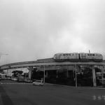 沖縄 ゆいレール 首里 (Yuirail monorail Syuri, Okinawa) RICOH GR1V FUJIFILM NEOPAN PRESTO 400 SPD 1:1