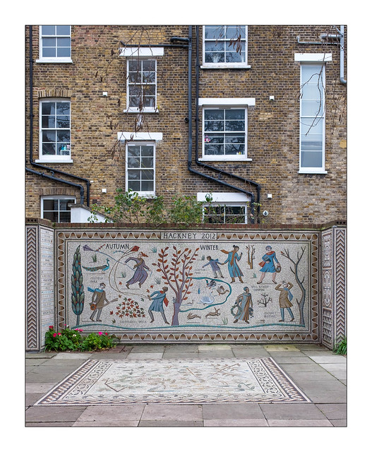 The Built Environment, Hackney, East London, England.