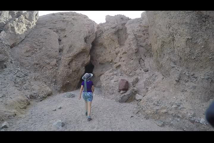 1325 LONG GoPro video as we hike up Slot Canyon Three in Sidewinder Canyon