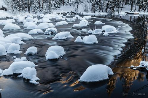 dam winter longexposure snow river canon canonphotography canon6d landscape landscapephotography 2019 finland valkeala kouvola cold water