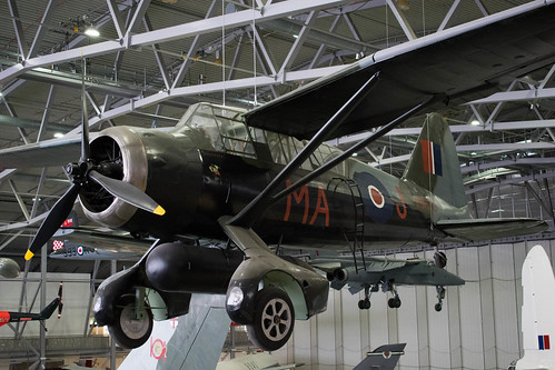 Westland Lysander at the IWM, Duxford