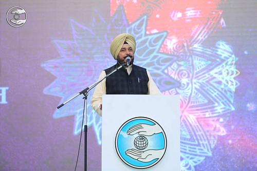 Speech by Cabinet Minister Sadhu Singh, Punjab
