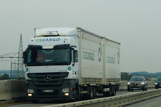 Mercedes-Benz Actros MP3 E5 2544 Megaspace LN/R - CS Cargo Holding A.S. Jičín, Czech Republic