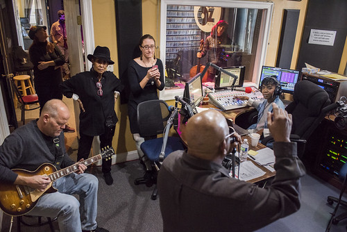 Brother Tyrone & the Mindbenders at WWOZ 38th birthday celebration on December 5, 2018. Photo by Ryan Hodgson-Rigsbee RHRphoto.com