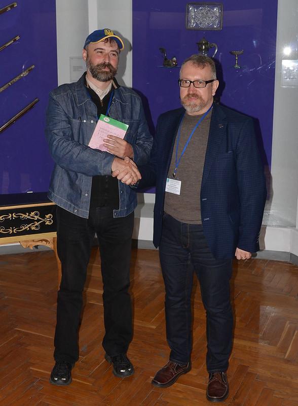 Святослав Сичевський (ліворуч) та Юрій Бохан.