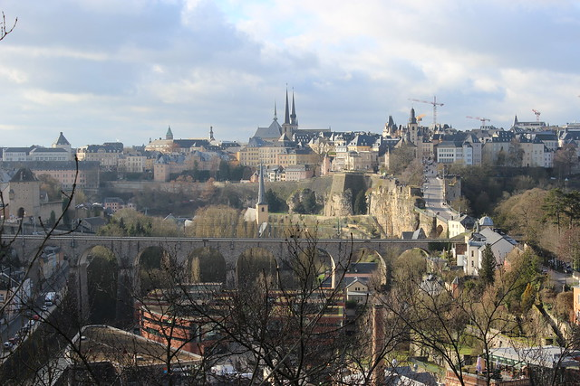 Blick über die Luxemburger Altstadt