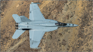 f18 hornet flying over de Canyon | by Evelakes67