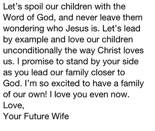 Love quote and saying : To my future husband | Love quote an