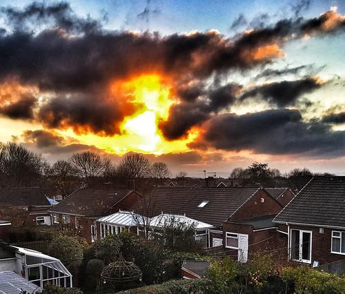 westerhope newcastle sunset appleiphone6splus