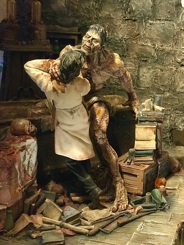 Wrightson Frankenstein diorama | by danfuller2