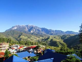 Vivid Mt. Kinabalu