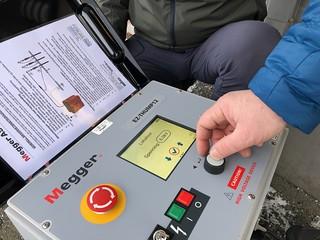 Hallingdal Kraftnett trener kabelfeilsøking hos Megger AS med deres nye EZ Thump 12kV. | by meggernorway