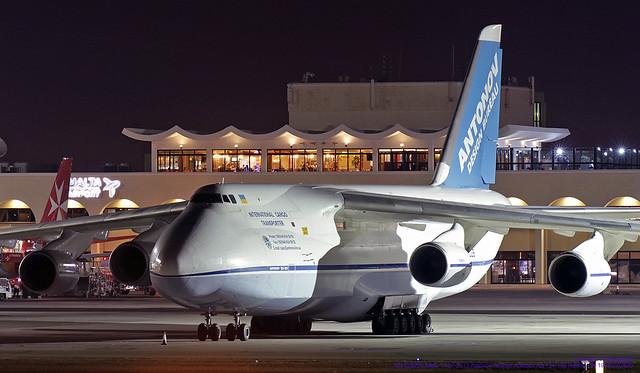 UR-82029 LMML 13-07-2013 Antonov Airlines Antonov An-124-100 Ruslan CN 19530502630