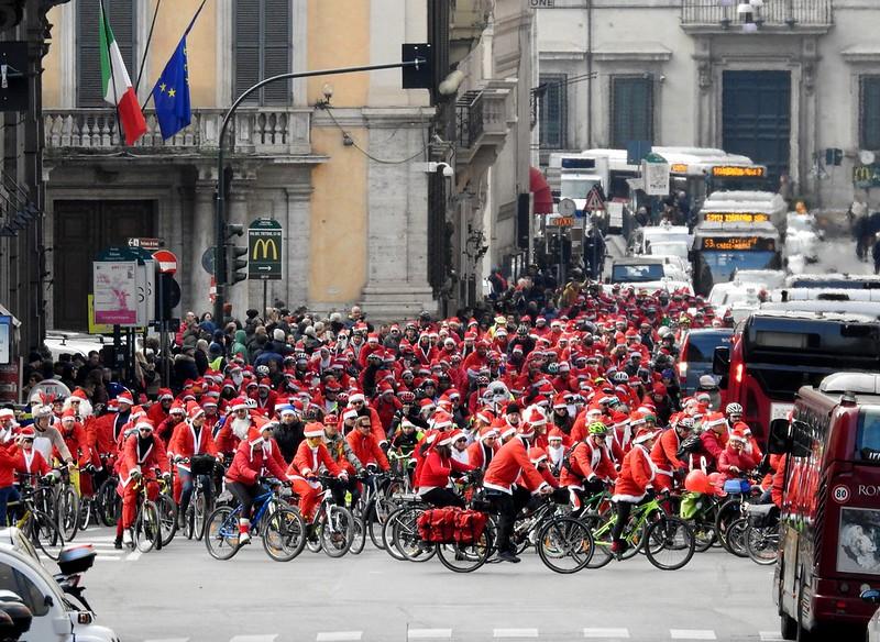 Santa Claus in Rome