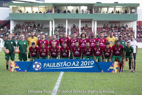 Portuguesa Santista 2 x 2 Portuguesa de Desportos. Jogo válido pelo Paulistão A2 de 2019, disputado no dia 30 de janeiro, em Ulrico Mursa | by Futebol Santista