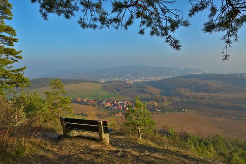 aussicht deutschland landschaft zeigerheim rudolstadt schwarza fog nebel thuringia thüringen darktable mist misty