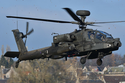 Hovering Helo.   by stonefaction
