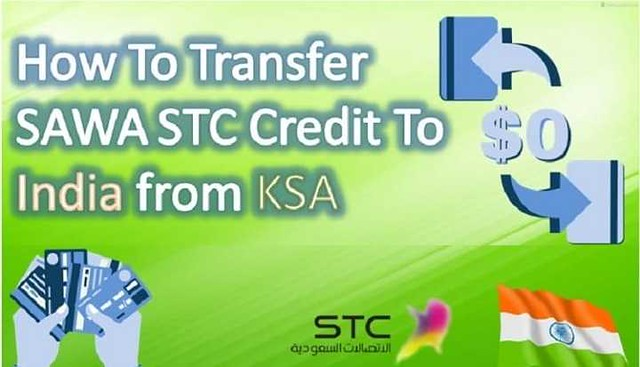 How to transfer balance from STC to Philippines, India and Pakistan
