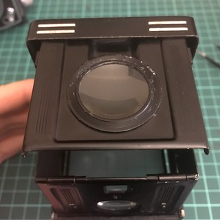 Viewfinder's loupe.   by Alex B/N