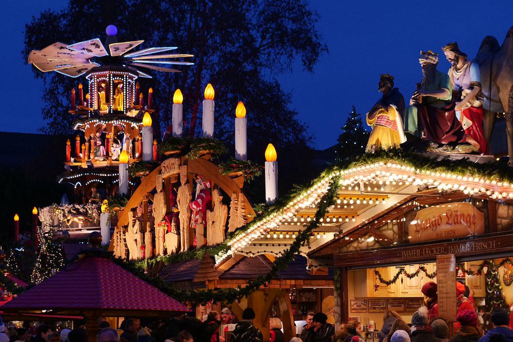 Karlsruhe Weihnachtsmarkt.Weihnachten In Karlsruhe Weihnachtsmarkt Am Friedrichsplat Flickr