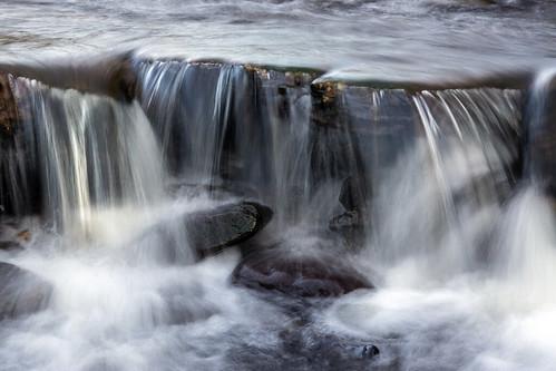 landscape derbyshire peakdistrict darkpeak longdendale crowden crowdenlittlebrook waterfall longexposure circularpolarisingfilter