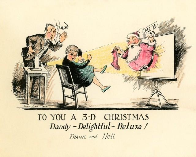 A 3D Christmas—Dandy, Delightful, Deluxe!