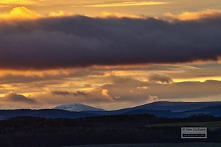 Morven sunset